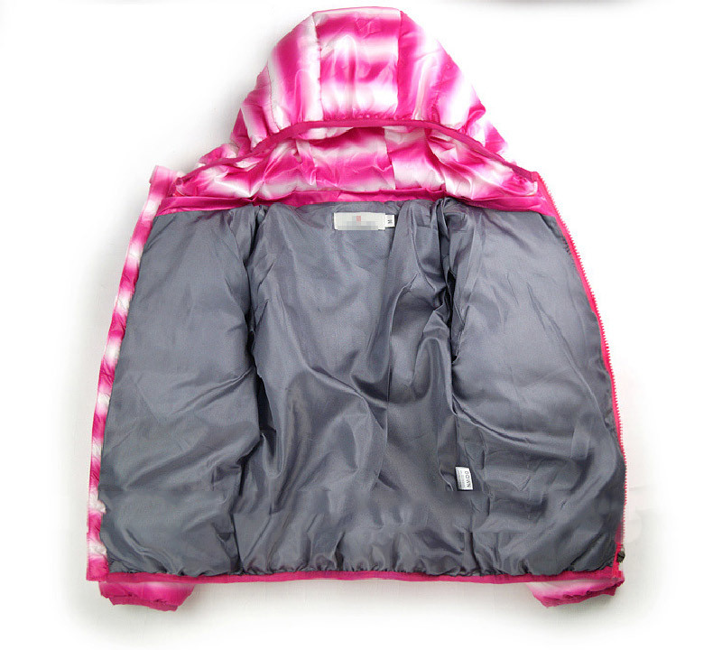Striped Children′s Cotton Padded with Hood for Winter Clothing