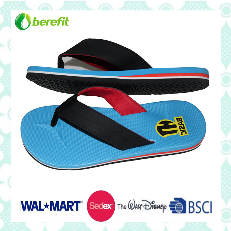Various Color for This Sole, Men′s Slippers
