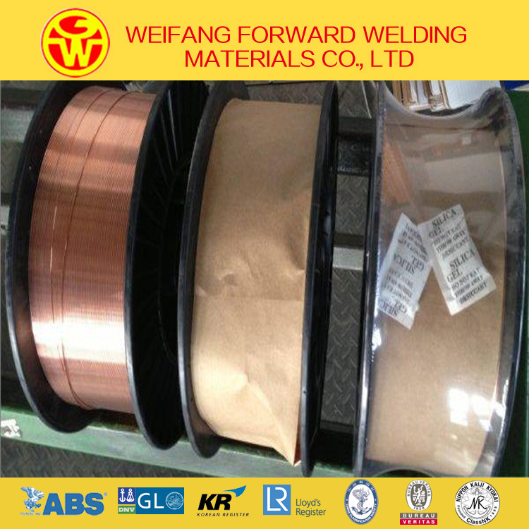 Golden Bridge 1.2mm 15kg/Spool Er70s-6 Solid Solder Welding Wire/ MIG Welding Wire with Copper Coated Ce/ ISO9001