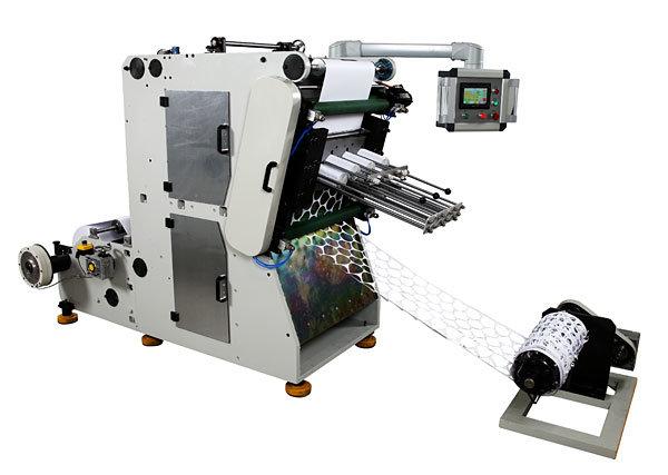 Embossing Aluminum Foil Automatic Yogurt Cover Punching Machine