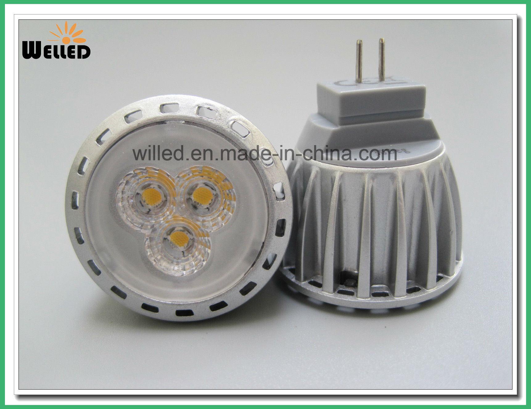 12V 10-30VDC Energy Saving MR11 LED Spotlight Spot Light 2W 4W Gu4.0