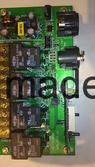 High Power DMX Relay Switch/Decorder/Power Supply PCB