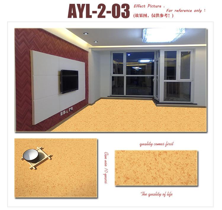 PVC Floor Covering/ Indoor Marble Vinyl Roll/ Plastic Flooring