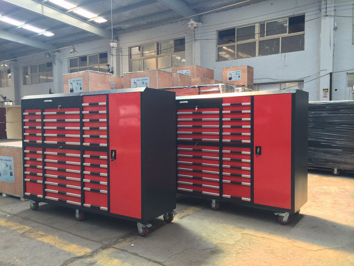 Heavy Duty Garage Cabinets : China heavy duty metal garage cabinets with wheels photos