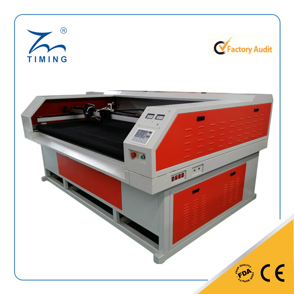 1200*2500mm Large Format Cloth Fabric Laser Cutting Engraving Machine