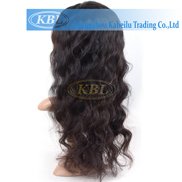 Real Remy Brazilian Silk Base Full Lace Wig Without Bang