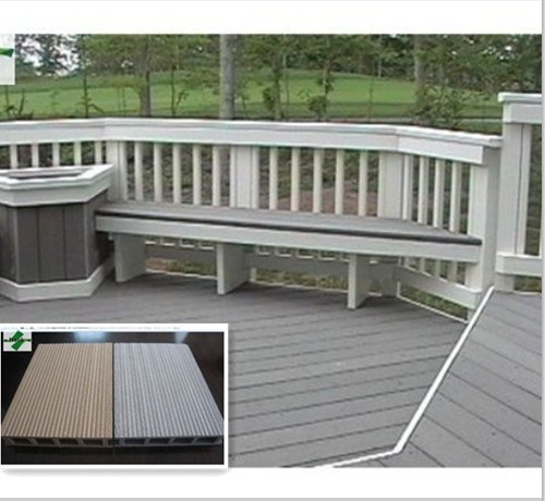 China composite veranda decking china outdoor floor wpc for Veranda composite decking