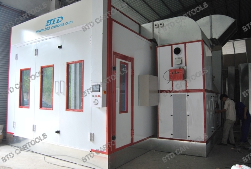 High Configuration Spray Paint Booth Auto Painting Room