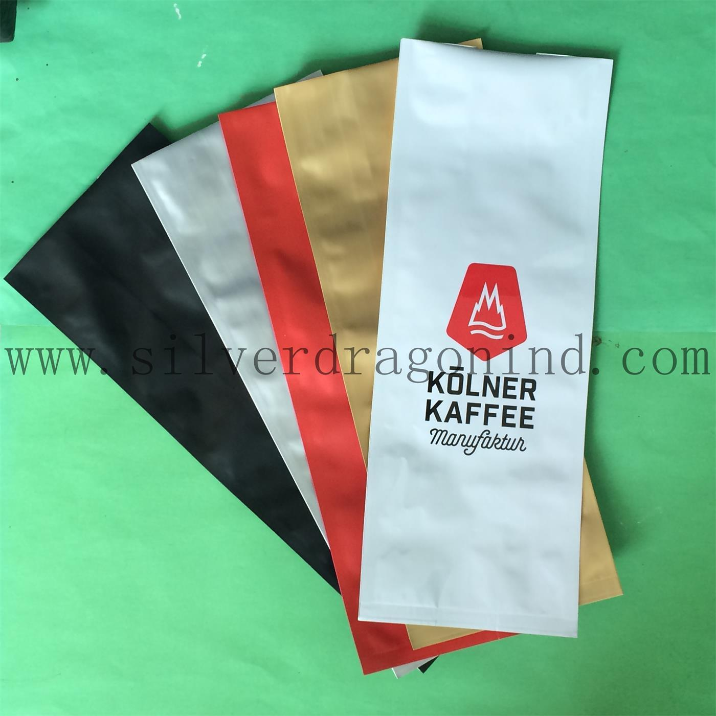 Top Quality Plastic Coffee Bag with Valve for Coffee Bean Packaging