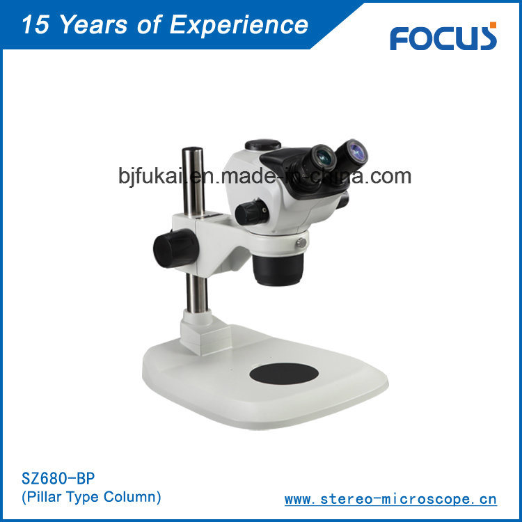 Easy to Use 0.68X-4.7X Laboratory Equipment for Stereo Microscope