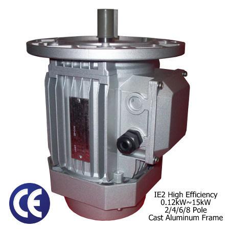 Three Phase Induction Motor (Cast Aluminum Frame, 1/5-20HP)