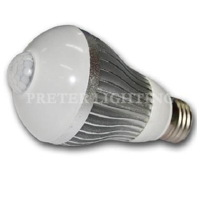 lights bulb 7w e27 5630 smd infrared led motion sensor lights bulb. Black Bedroom Furniture Sets. Home Design Ideas