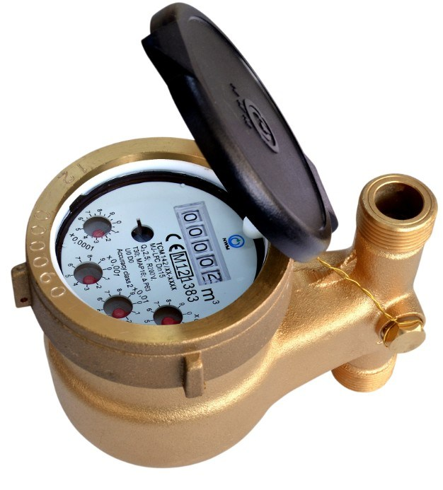 Multi Jet Liquid Filled (Semi Dry) Water Meter Classc/R160