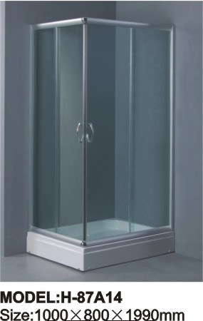Simple Shower Room Tempered Glass Shower Enclosure