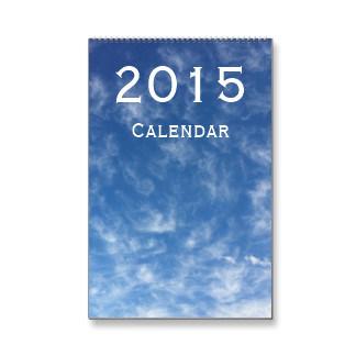 2015 Wall Calendar/ Monthly Calendar