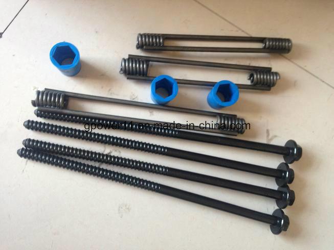 Galvanized Steel Four Strut Coil Insert for Building Precast Concrete spiral Coil Tie