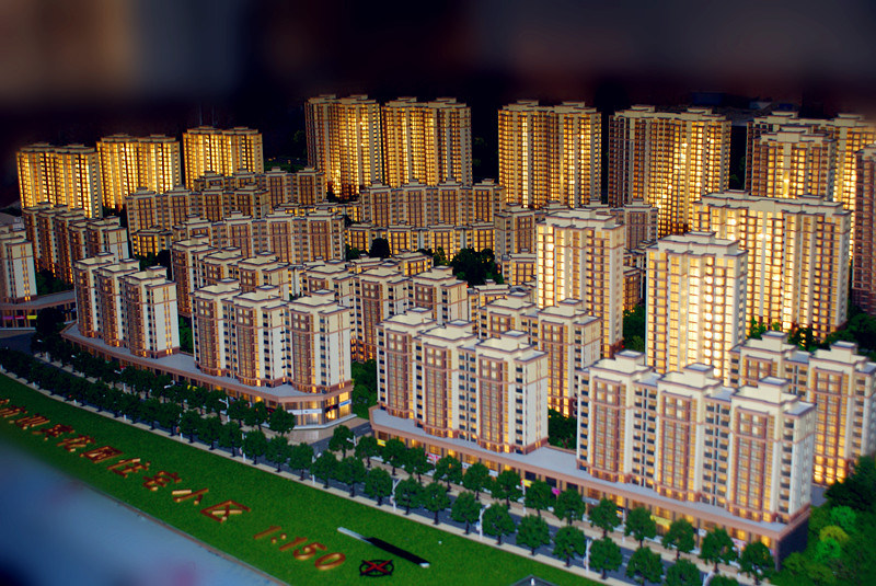 3D Building Model _Residential Model (JW-117)