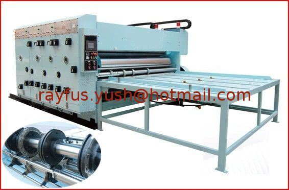 Flexo Printer Slotter Die-Cutter for Corrugated Carton Making Machine
