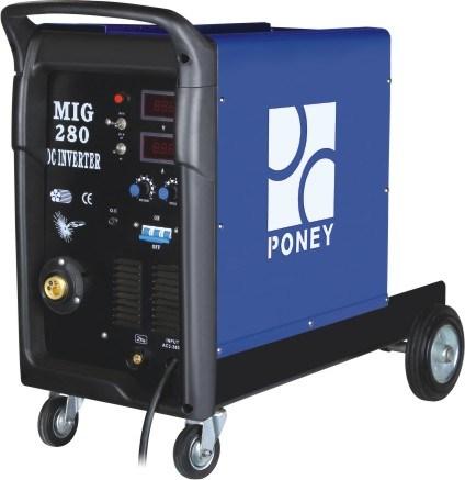 Plastic Inverter Mosfet MIG/Mag Welding Machine 380V/3pH