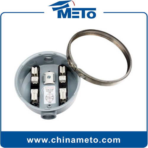 Zhejiang Meto Electrical: China 100A Round Meter Socket (MT-100R) Photos & Pictures