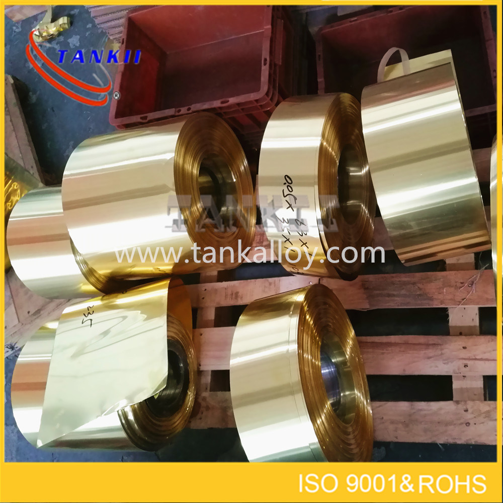Copper nickel alloy foil CuNi23 (NC030)