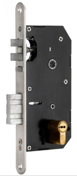 European Mortise Hotel Door Lock (V-RF6017H)