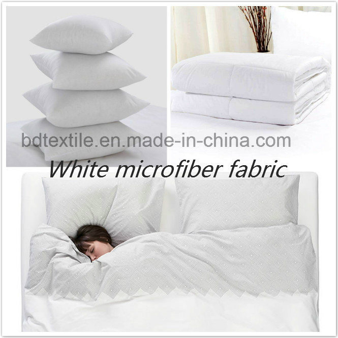 White Microfiber Fabric, Optical White Microfiber Fabric, off White Microfiber Fabric