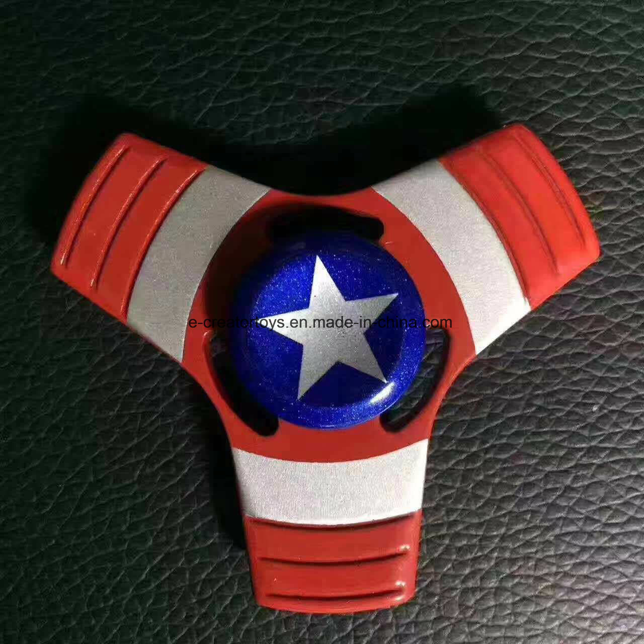 2017 Top Selling Fidget Spinner with Captain America