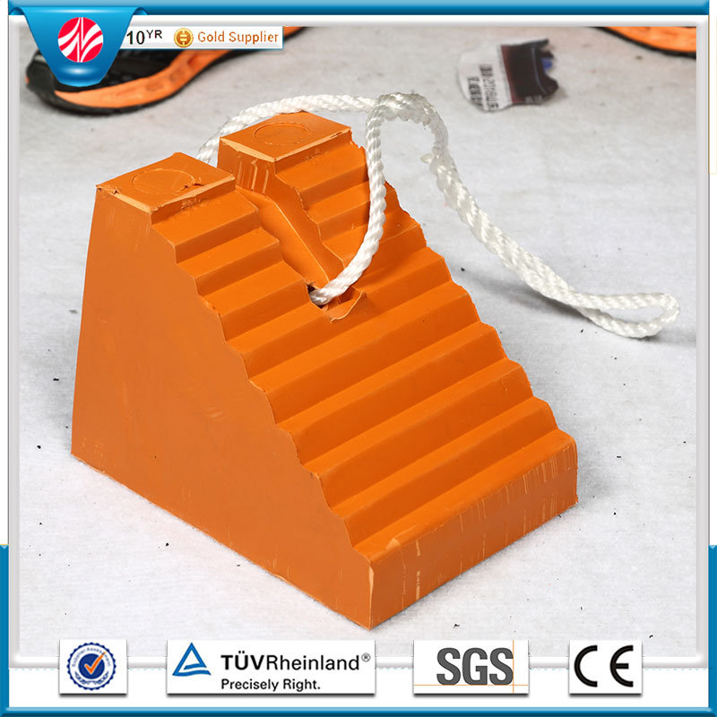 Wheel Chock / Truck Stopper, Rubber Cushion