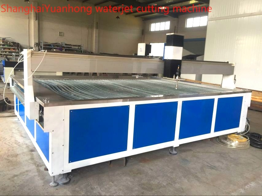 Yuanhong Waterjet Cutting Machine 2m*3m Cutting Table with Intensifier Pump.