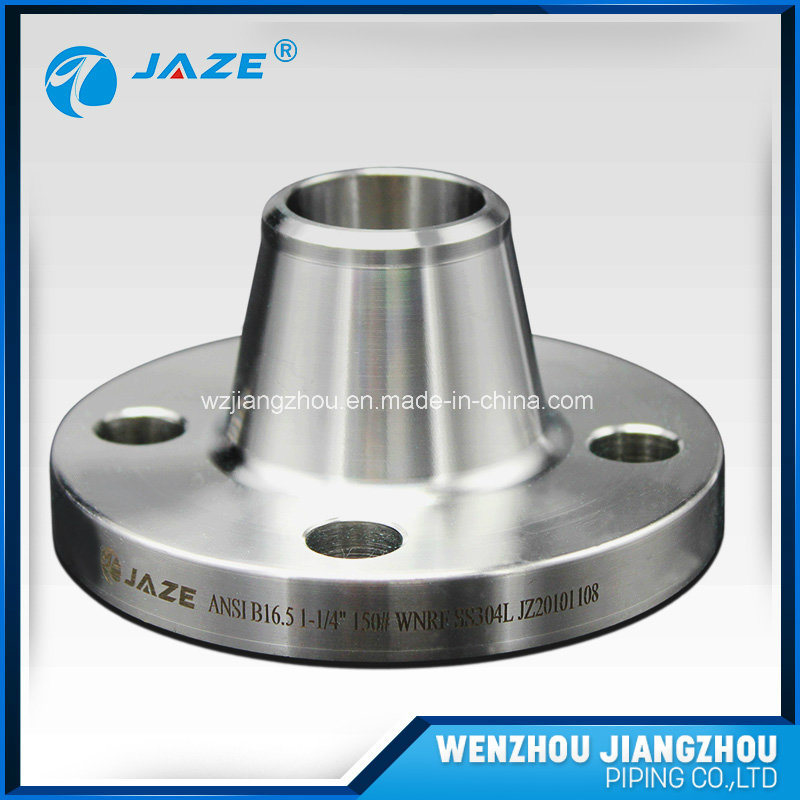 Stainless Steel Long Welde Neck Flange