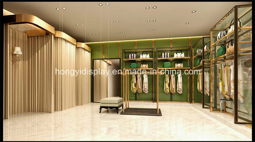 Elegant Ladies Garments Shop Name Retail Garment Interior Design