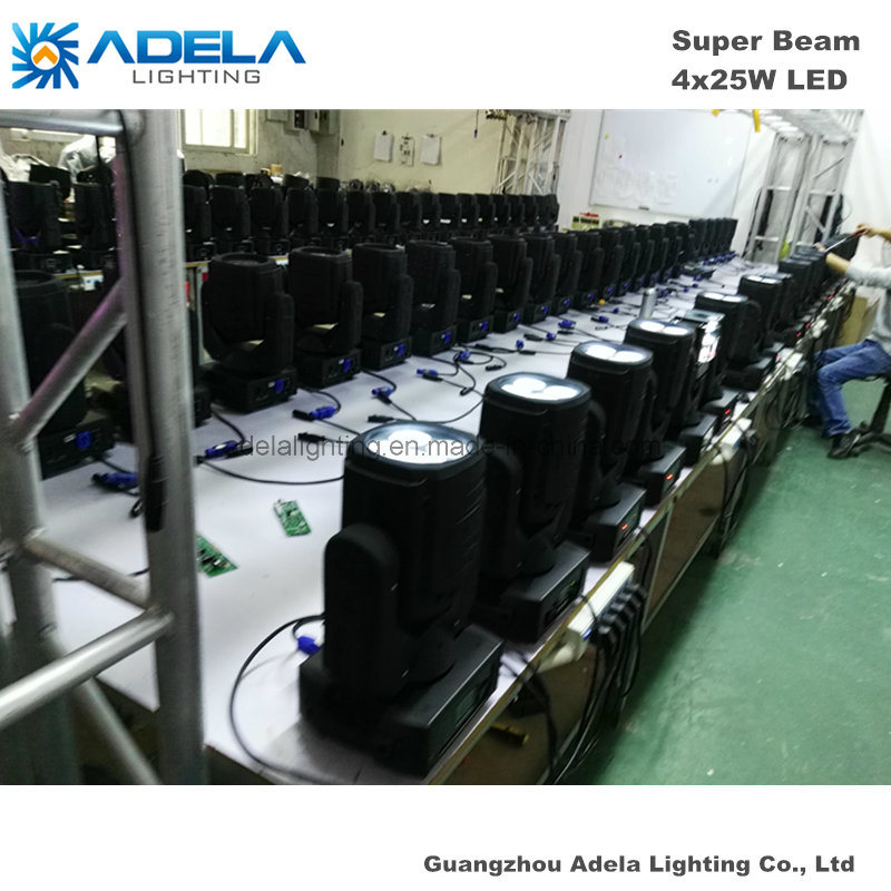 4X25W LED Super Beam Light Disco Light Stage Light
