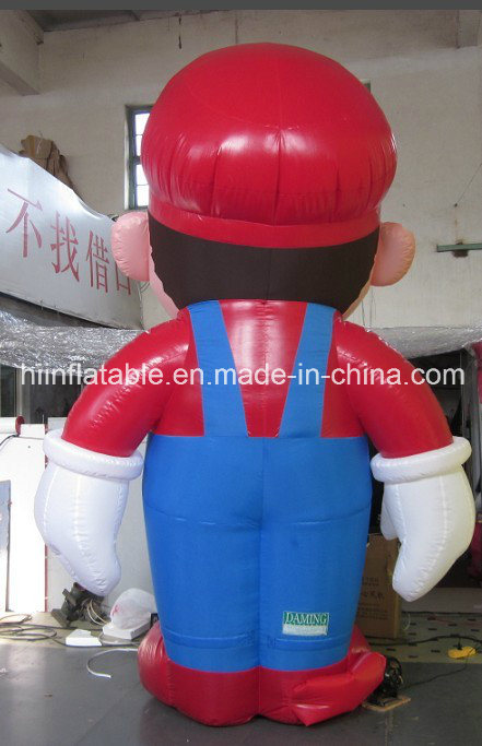 Hot Selling Inflatable Mario Cartoon for Advertising Promotion