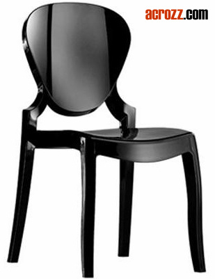 Plastic Clear Stackable Banquet Modern Furniture Ghost Dining Chair