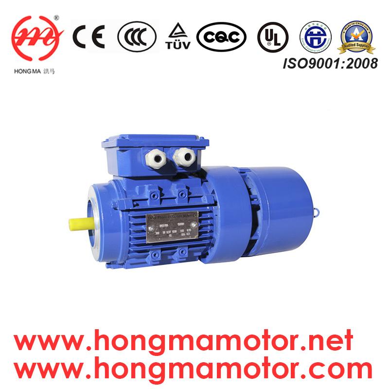 AC Motor/Three Phase Electro-Magnetic Brake Induction Motor with 1.1kw/4pole