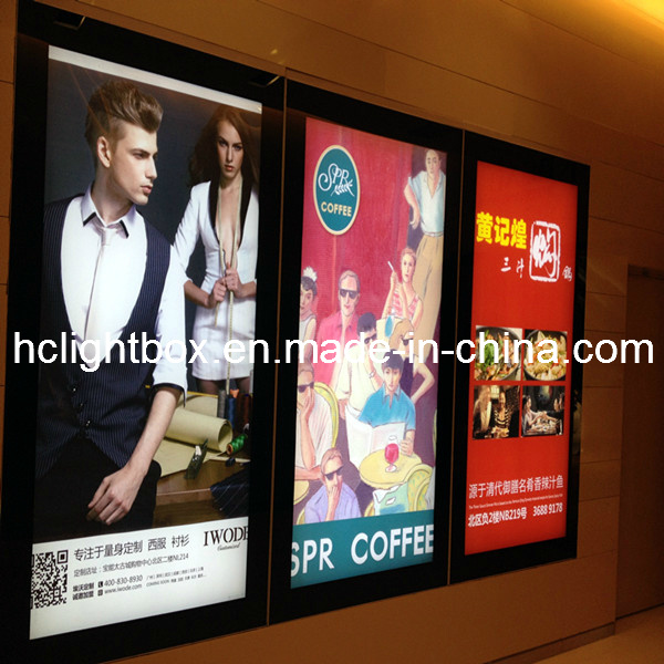 Slim Acrylic Display Box Acrylic LED Photo Frame