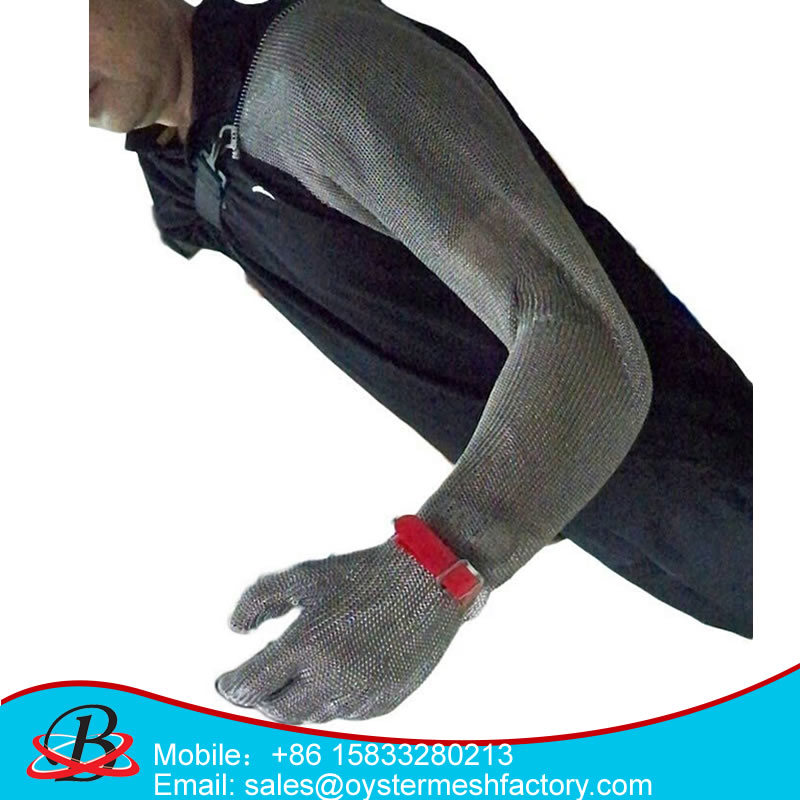 Protection Stainless Steel Wire Mesh Glove