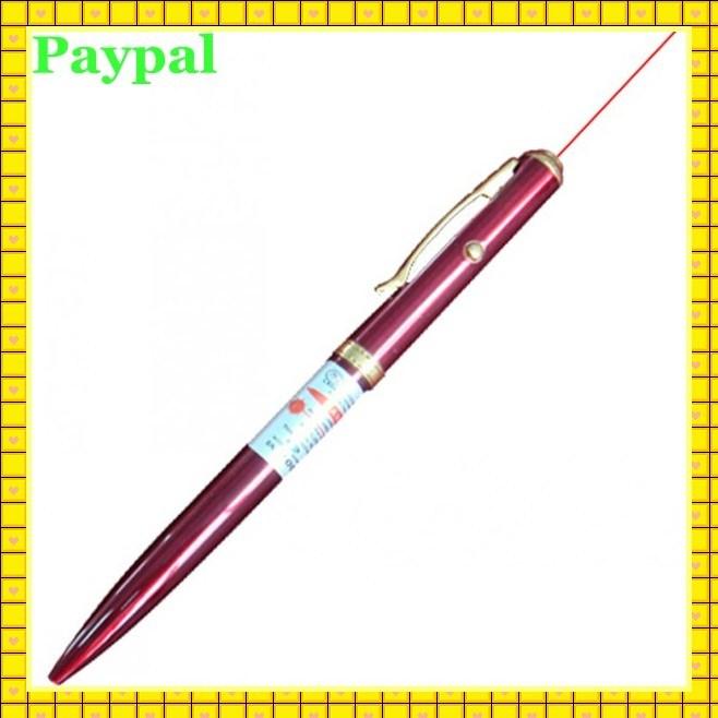 High Quality Laser Pointer Pen LED Light Metal Pen (gc-p007)