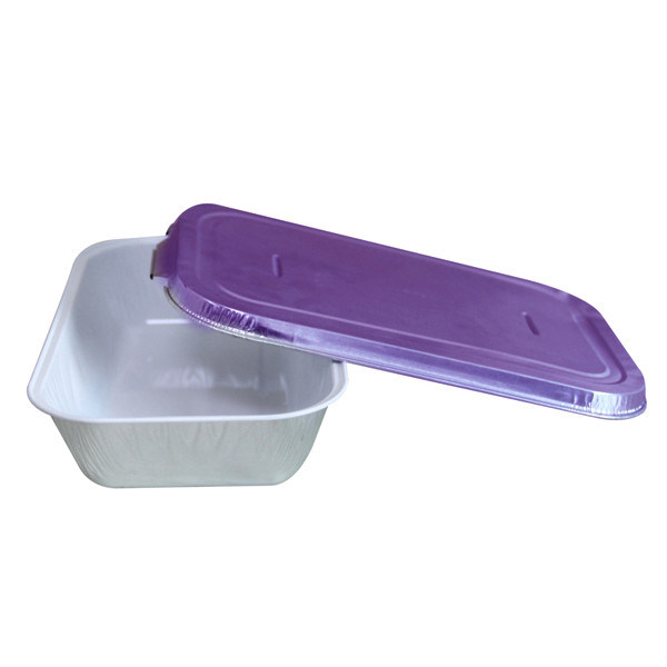 Regular White Lacquer Coated Inflight Aluminum Casserole