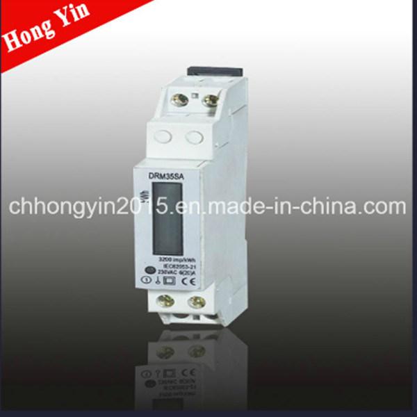 DRM35SA LCD Display Small Volume Single Phase Energy Meter