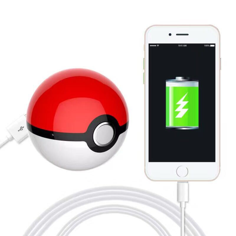 2016 New Pokemon Go Ball Chager Power Bank