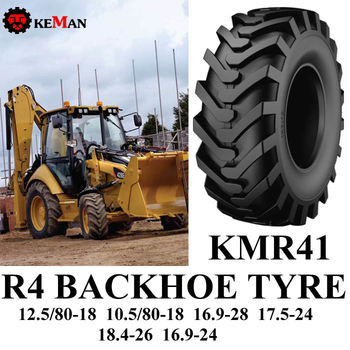 R4 Industrial Backhoe Tire