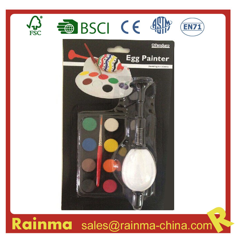 Easter Egg Water Color Paint DIY Toy