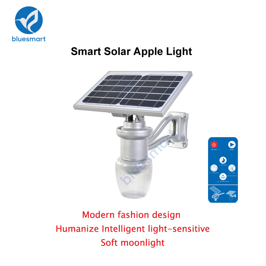 Solar Powered 6W 9W Outdoor LED Garden Light