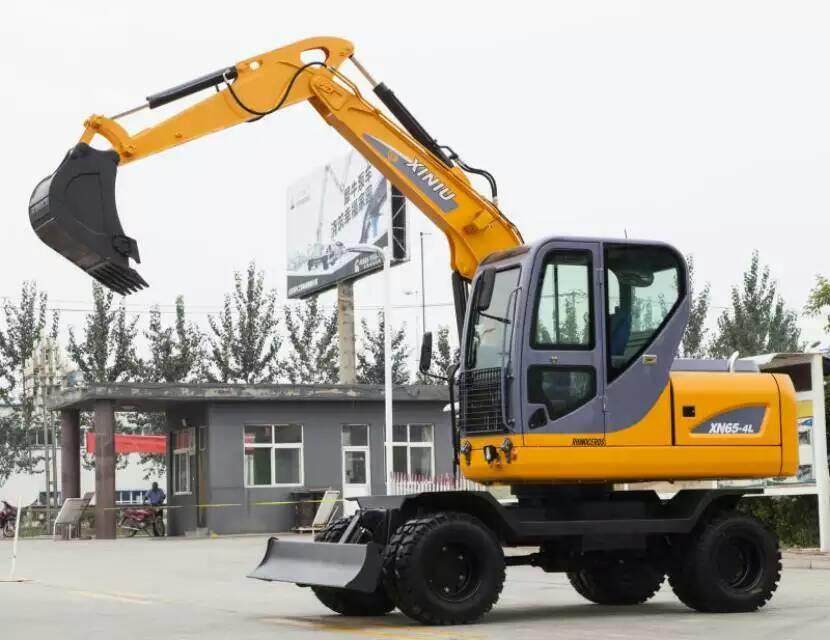 6ton Wheel Excavator Xn65-4L