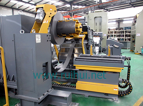 Automatic Press Line Use 3 in 1 Straightener Feeder (MAC4-1000L)