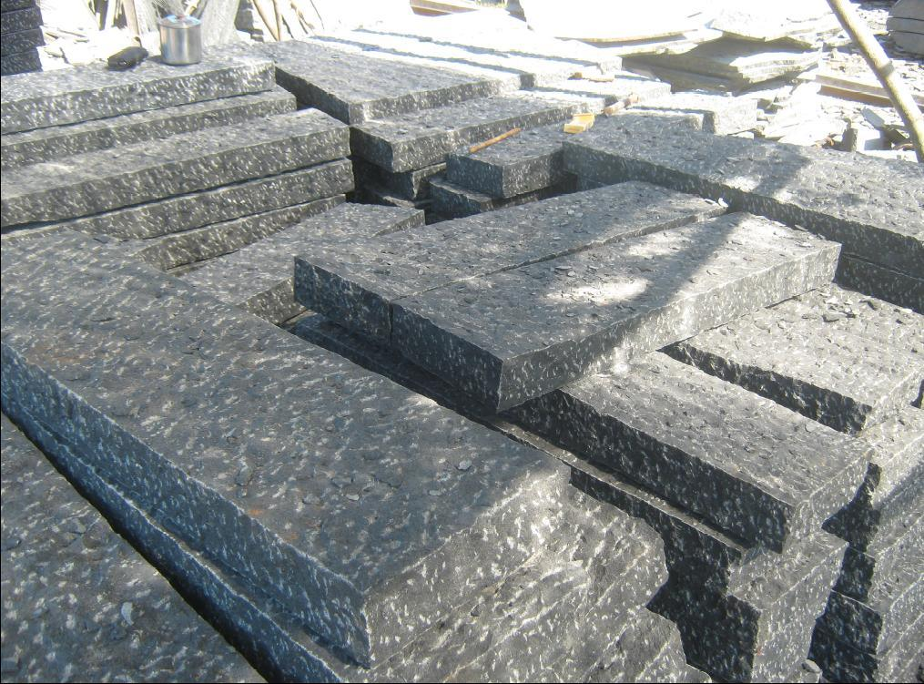 Granite Curb Pricing : China granite curb stone paving stones