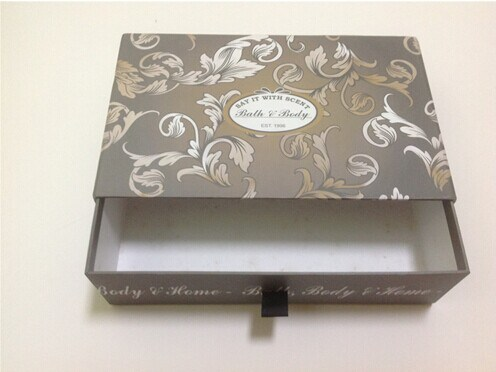 Cute Gift Box with Sliding Drawer for jewellery Packaging