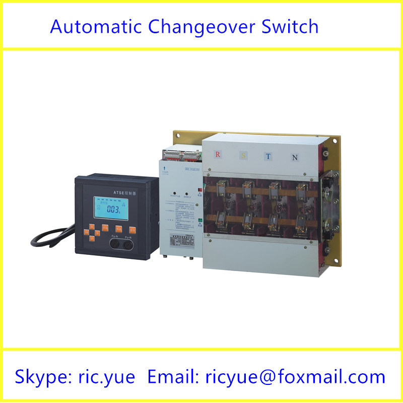 1600A Intelligent Manual or Automatic Transfer Switch with RS485 Interface (YMQ-1600/4P)